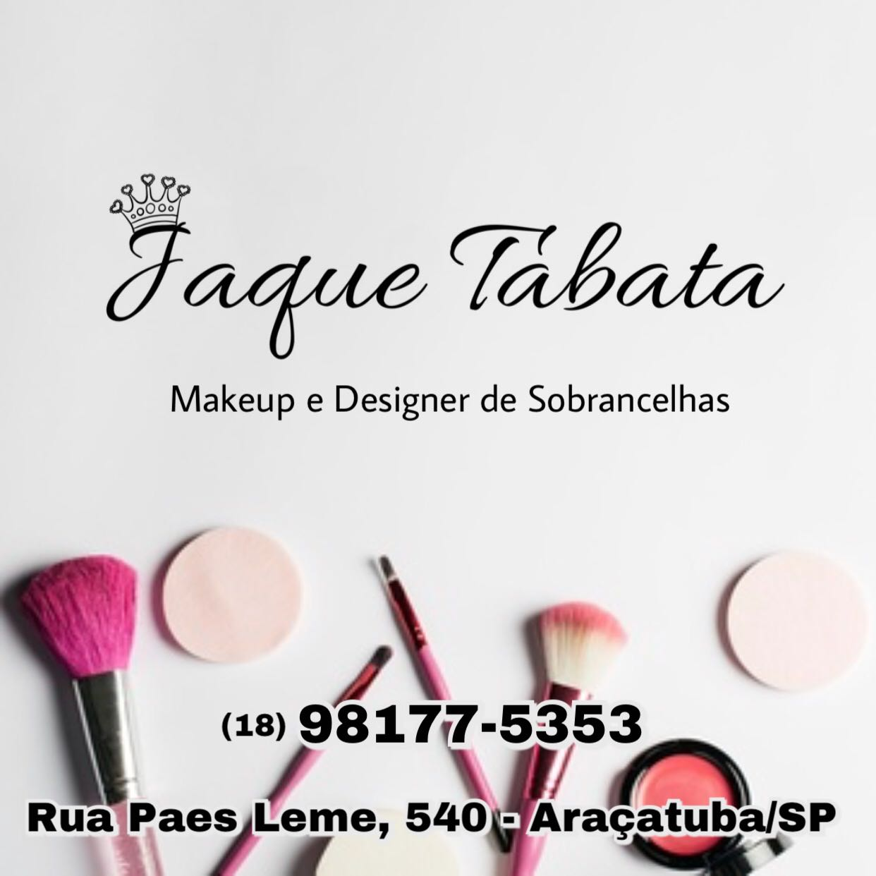 Jaque Tabata makeup